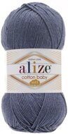Пряжа Alize COTTON BABY SOFT  джинс меланж